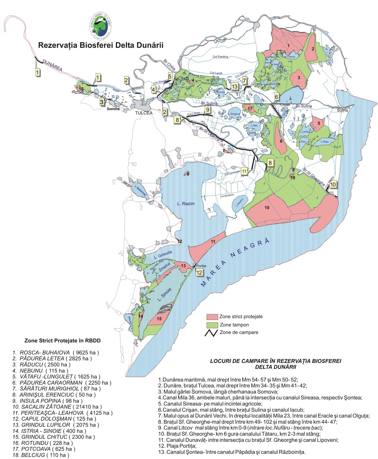 Danube Delta Useful Maps Pensiunea Delta Miraj Sulina